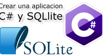 01.- Crear una aplicacion portable con C# y SQLlite ?
