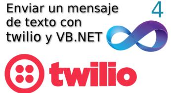 04.- Enviar un mensaje de texto con twilio y vb.net ☁️