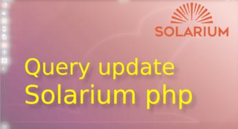Update en solr con Solarium en php ☀️