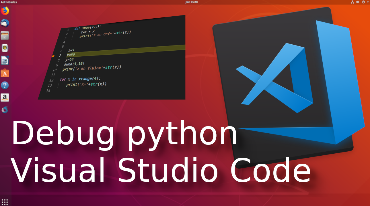 Debug python con Visual Studio Code ?