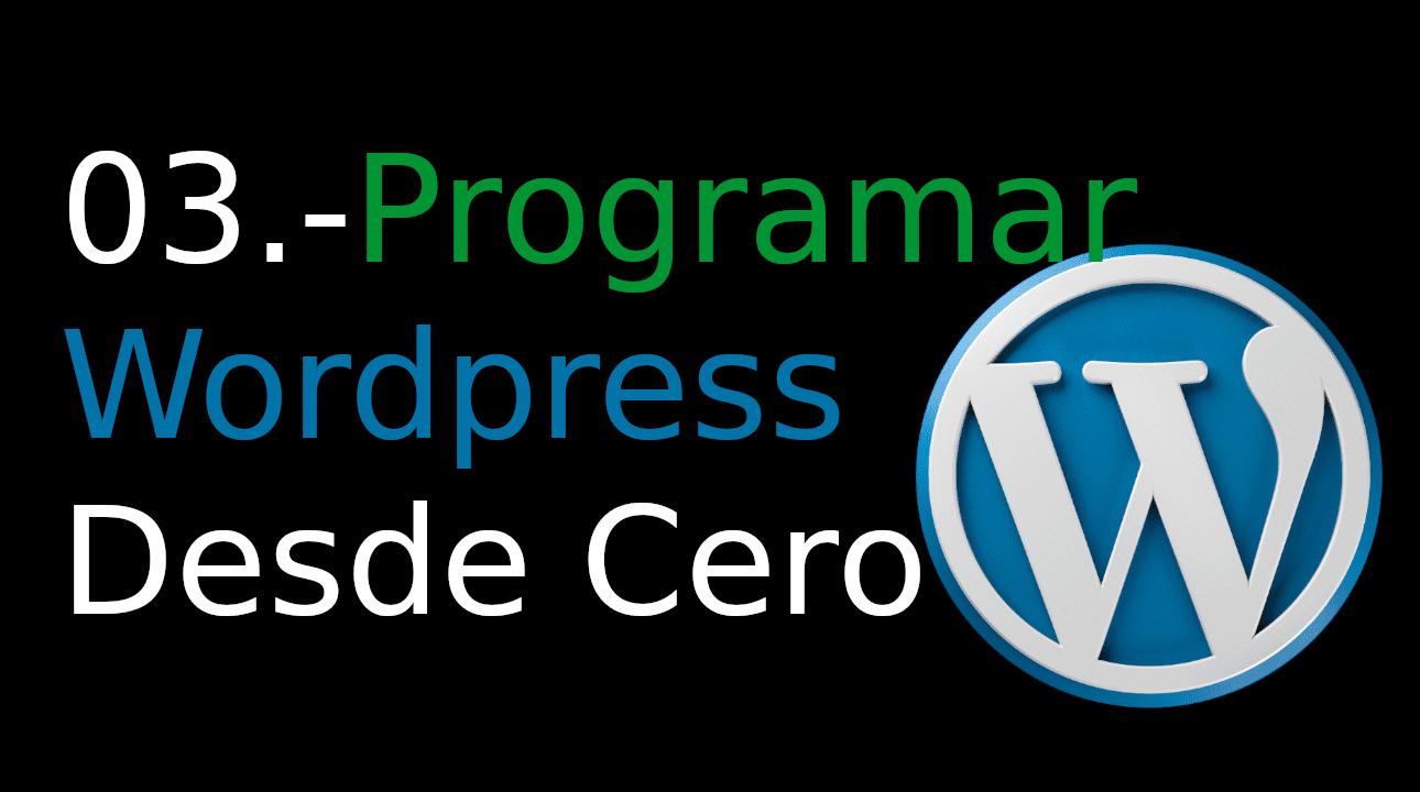 03.-Programar WordPress desde cero [add_filter]
