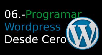 06.-Programar WordPress desde cero [widgets]