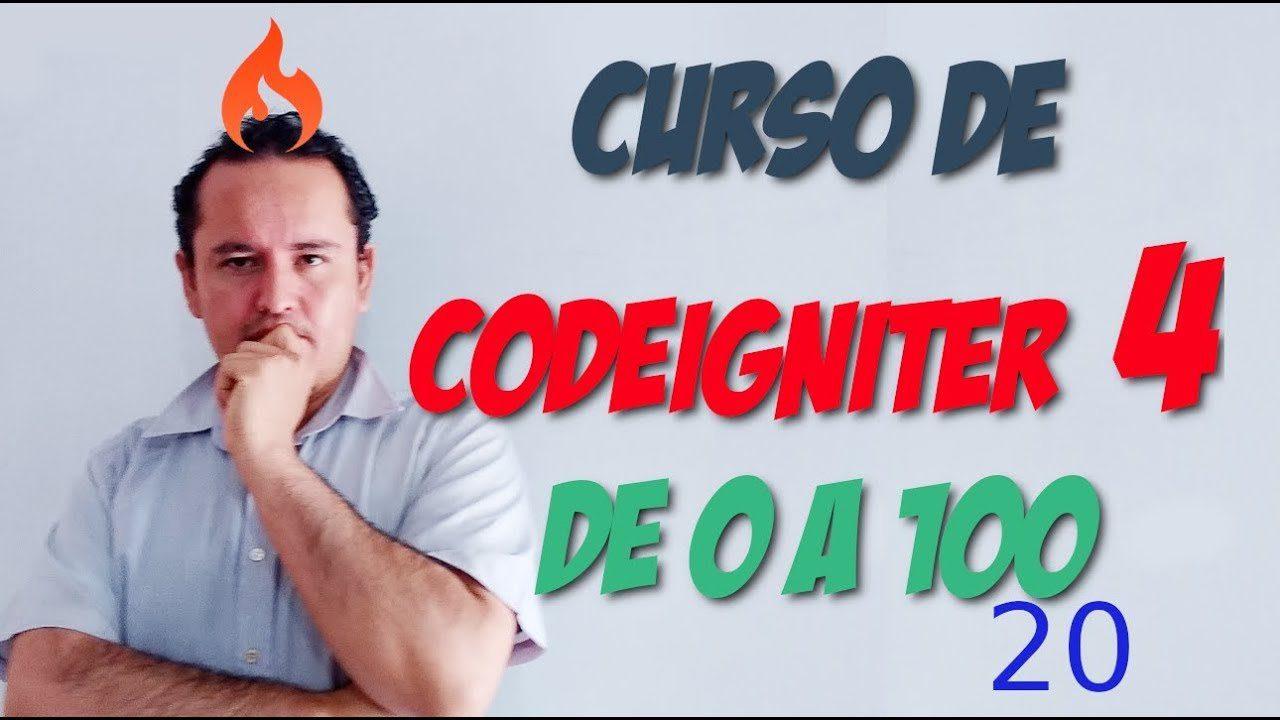 Codeigniter 4🔥 [20.- Barra debug development]