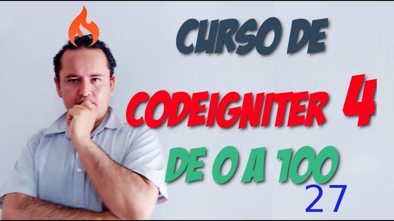 Codeigniter 4🔥 [27.- Sesiones]