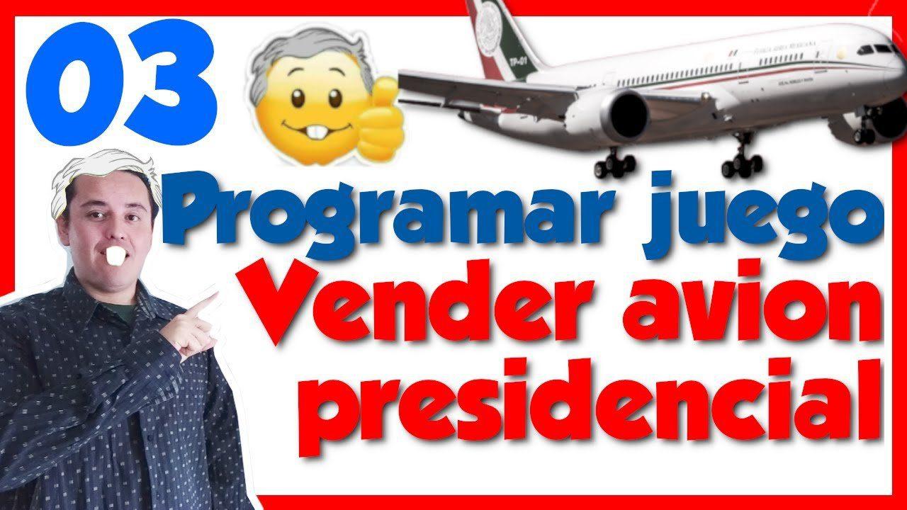 Programar un juego🕹️ en javascript Vender el avión presidencial [03.- Renderizar imagen con canvas]