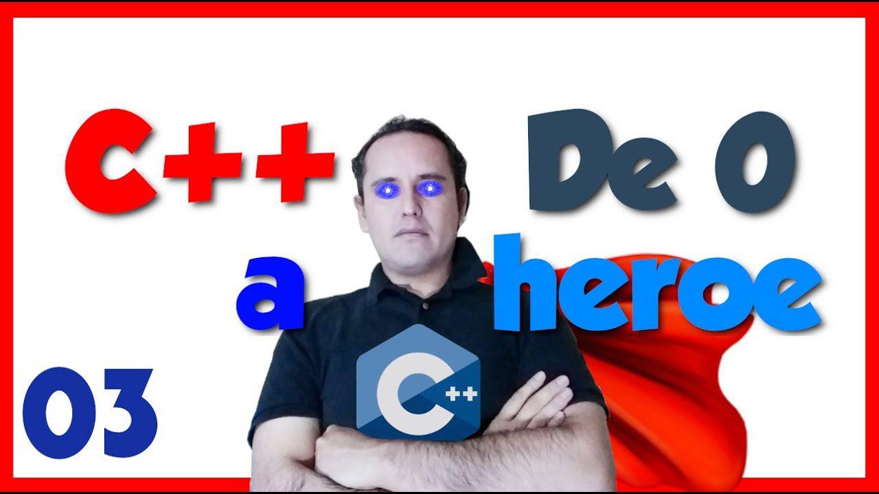 C++ hola mundo codigo🐣. 03.- C++ desde cero 2019🦸♂️ [Mi primer hola mundo😁]