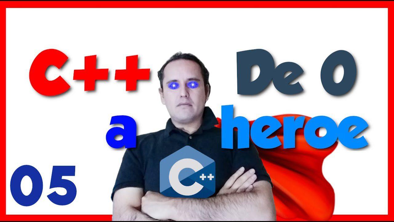 05.- C++ desde cero 2019🦸♂️ [Lectura de datos en C++]