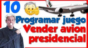 Programar un juego🕹️en javascript Vender el avión presidencial [10.-Mover el avión hacia el país]