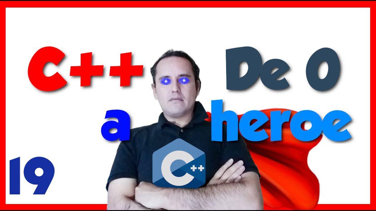 C++ Rango de Numeros. 19.- C++ desde cero 2019🦸♂️ [Ejercicio 11, rango de edad]