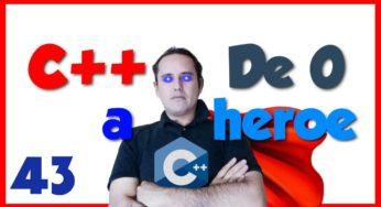 43.- C++ desde cero 2019🦸♂️ [Cadena de caracteres o String (cadenas c++ ejercicios resueltos)]