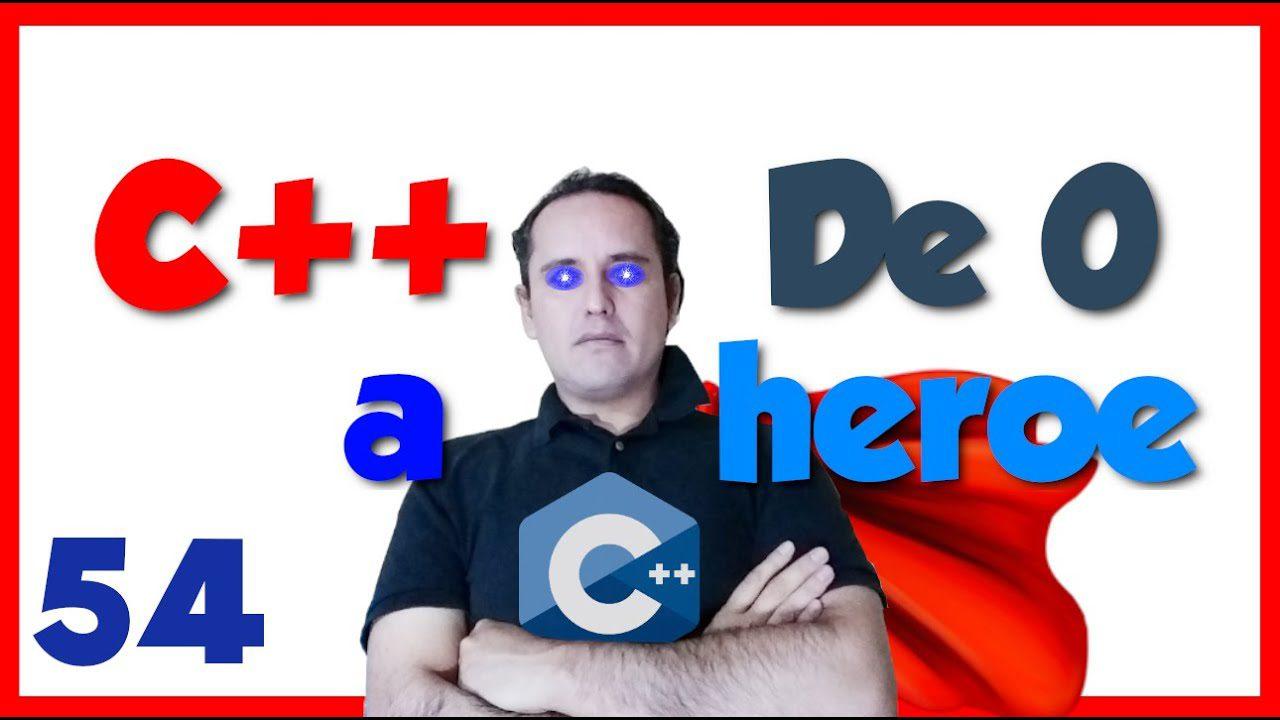 54.- C++ desde cero 2019🦸♂️ [Ordenamiento por inserción]