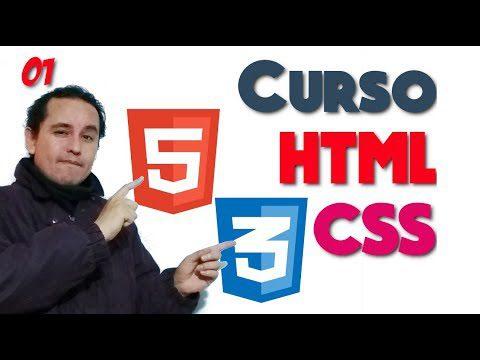 01.- HTML y CSS de 0 a 100 [Introducción]?