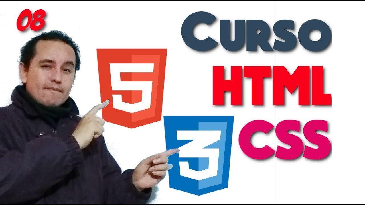 08.- HTML y CSS de 0 a 100 [Ids y clases]?
