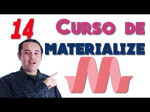 Materialize CSS? [14.- Material Box]