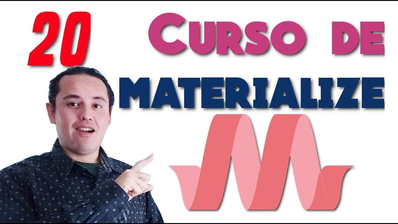 Materialize CSS? [20.- Scrollspy]