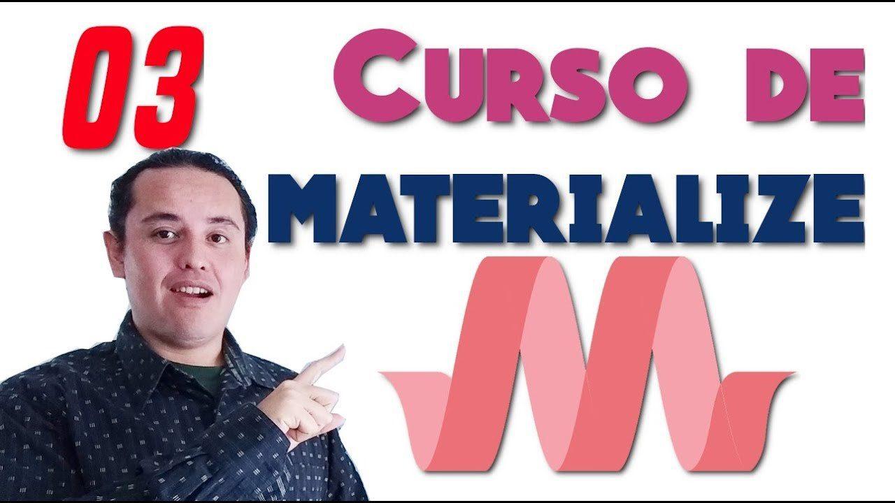 Materialize CSS? [03.- Colores (Paleta de colores)]