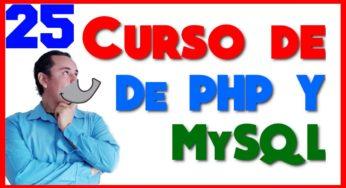 Curso de PHP? y MySql? [25.- Funciones predefinidas y funciones propias]