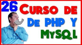 Curso de PHP? y MySql? [26.- Parámetros por referencia y por valor]