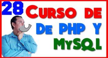 Curso de PHP? y MySql? [28.- POO(Programación Orientada a Objetos (constrictor) parte 2)]