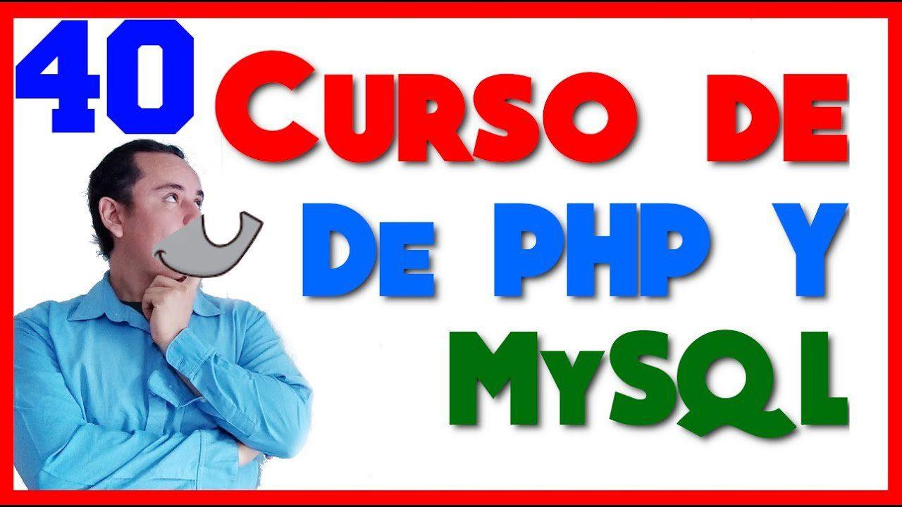 Curso de PHP? y MySql? [40.- Crear y borrar bases de datos en Mysql ]