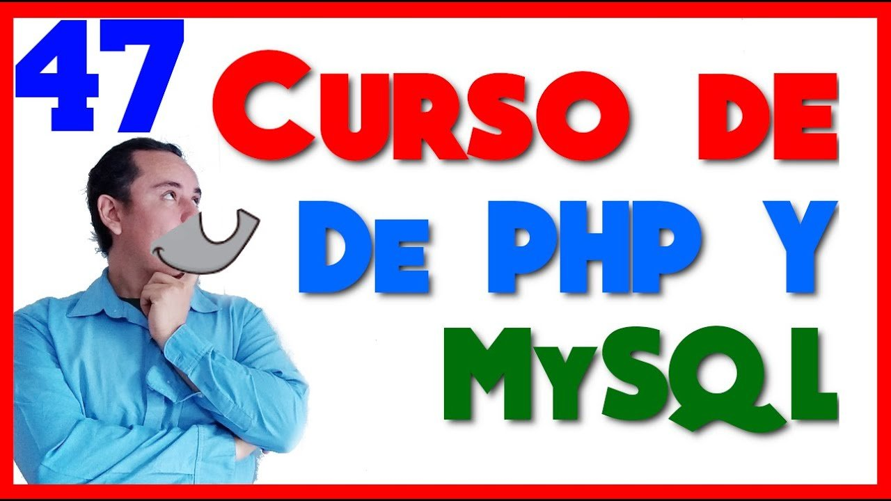 Curso de PHP🐘 y MySql🐬 [47.- Exportar e importar datos de MySQL]