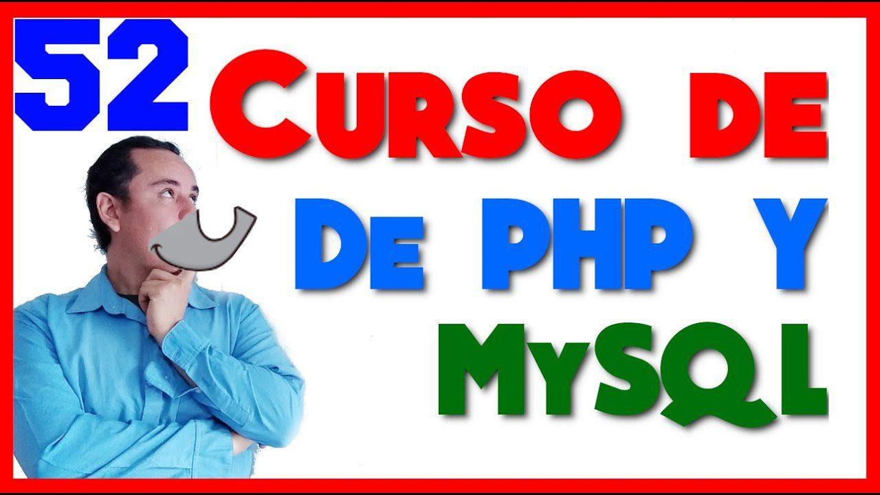 Curso de PHP y MySql🐬 [52.- Borrar registros🗑️]
