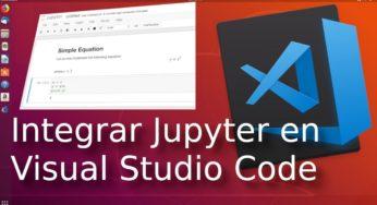 Integrar Jupyter Notebook de Python en Visual Studio Code ? con Neuron