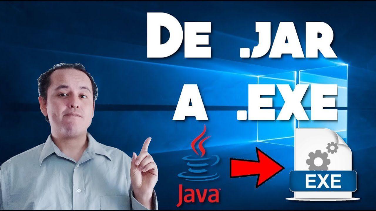 Convertir de .jar a .exe (Java 12) NUEVO 2019