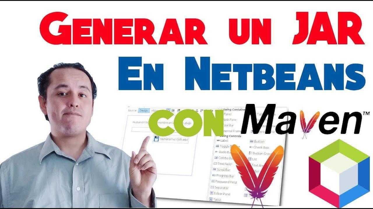 Generar jar en Netbeans Maven (Java 12) NUEVO 2019