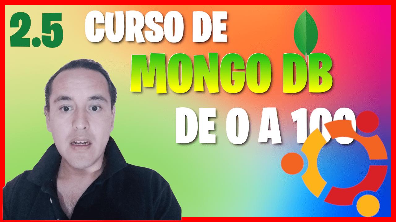 Instalar mongoDB en Ubuntu 18.04 (Curso de MongoDB [2.5])