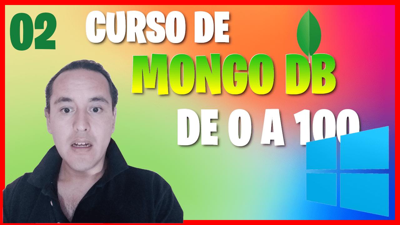 Instalar mongoDB en Windows 10 (Curso de MongoDB [02] )