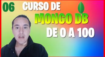 Crear nuestra base de datos con mongodb e insertamos un documento con JSON(Curso de MongoDB [06] )