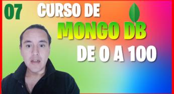 Crear una base de datos con documentos y diferentes campos(Curso de MongoDB [07] )