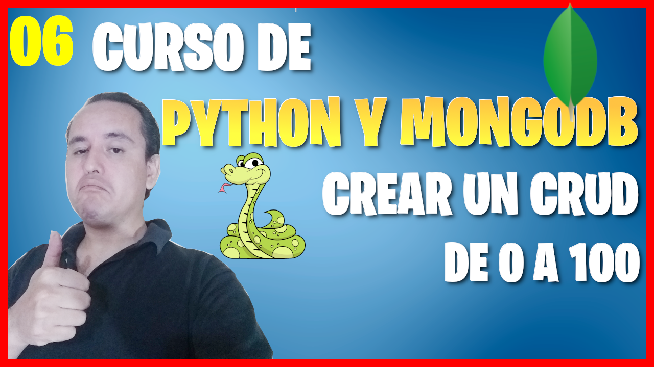Insertar documentos con Python en mongoDB (📊Curso de MongoDB y Python [06] )