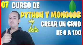 Editar un documento con Python en mongoDB (📊Curso de MongoDB y Python [07] )