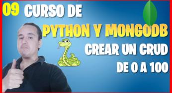 Borrar un documento con Python en mongoDB (📊Curso de MongoDB y Python [09] )