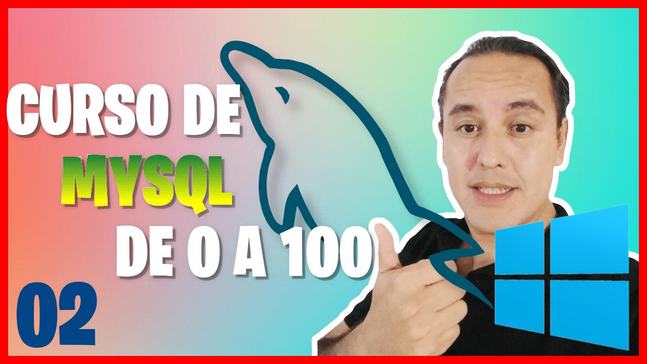 Instalación de MariaDB en Windows 10 (Curso de MySQL desde cero [02])