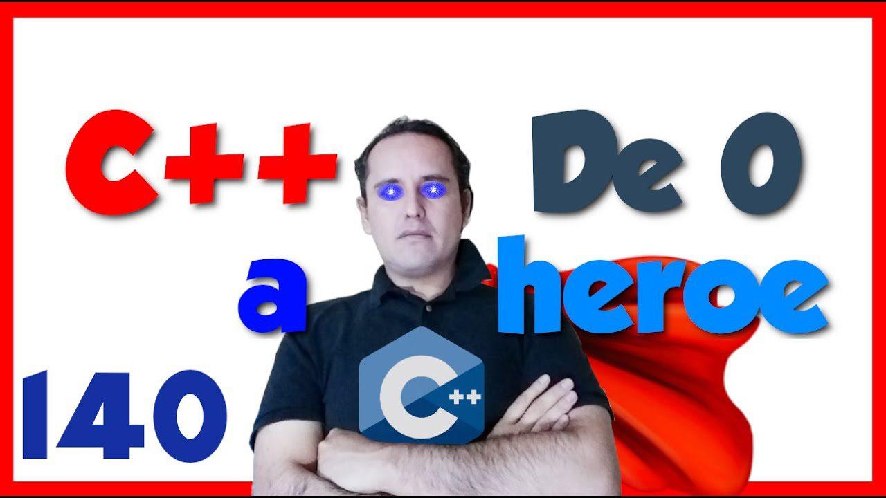 140.- C++ desde cero 2019 [Crear un virus en c++]