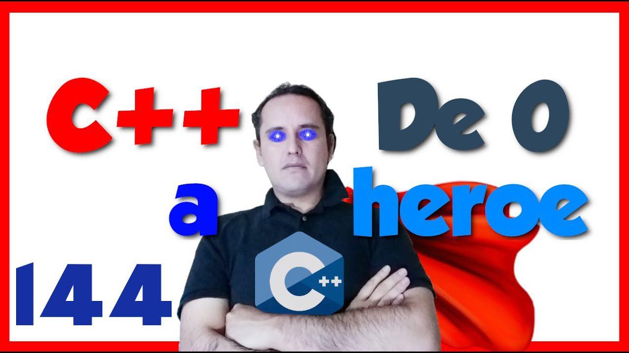 144.- C++ desde cero 2019 [Clase rectángulo]