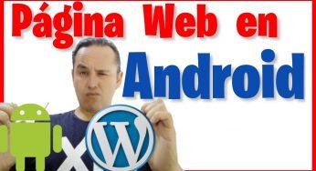 Nuestra Página Web en una Aplicación Android 🌐📲