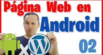 Correr Nuestra Página Web en Android Studio [02]🌐📲