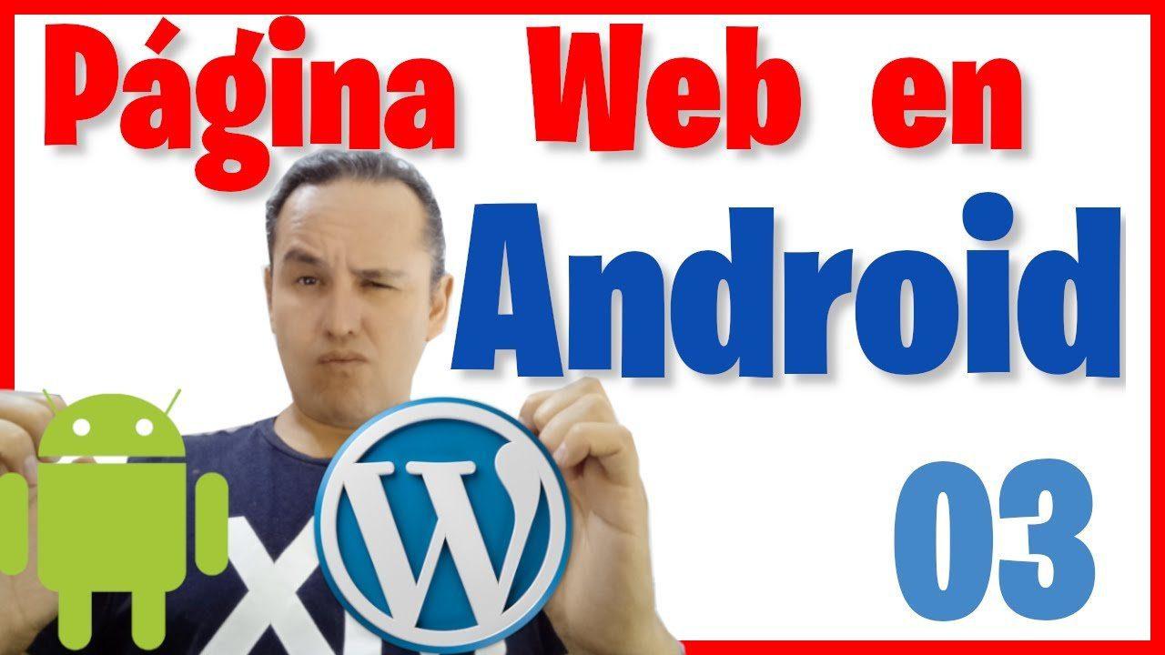 Correr nuestra Nuestra Página Web en un teléfono (físico) en Android Studio [03]🌐📲