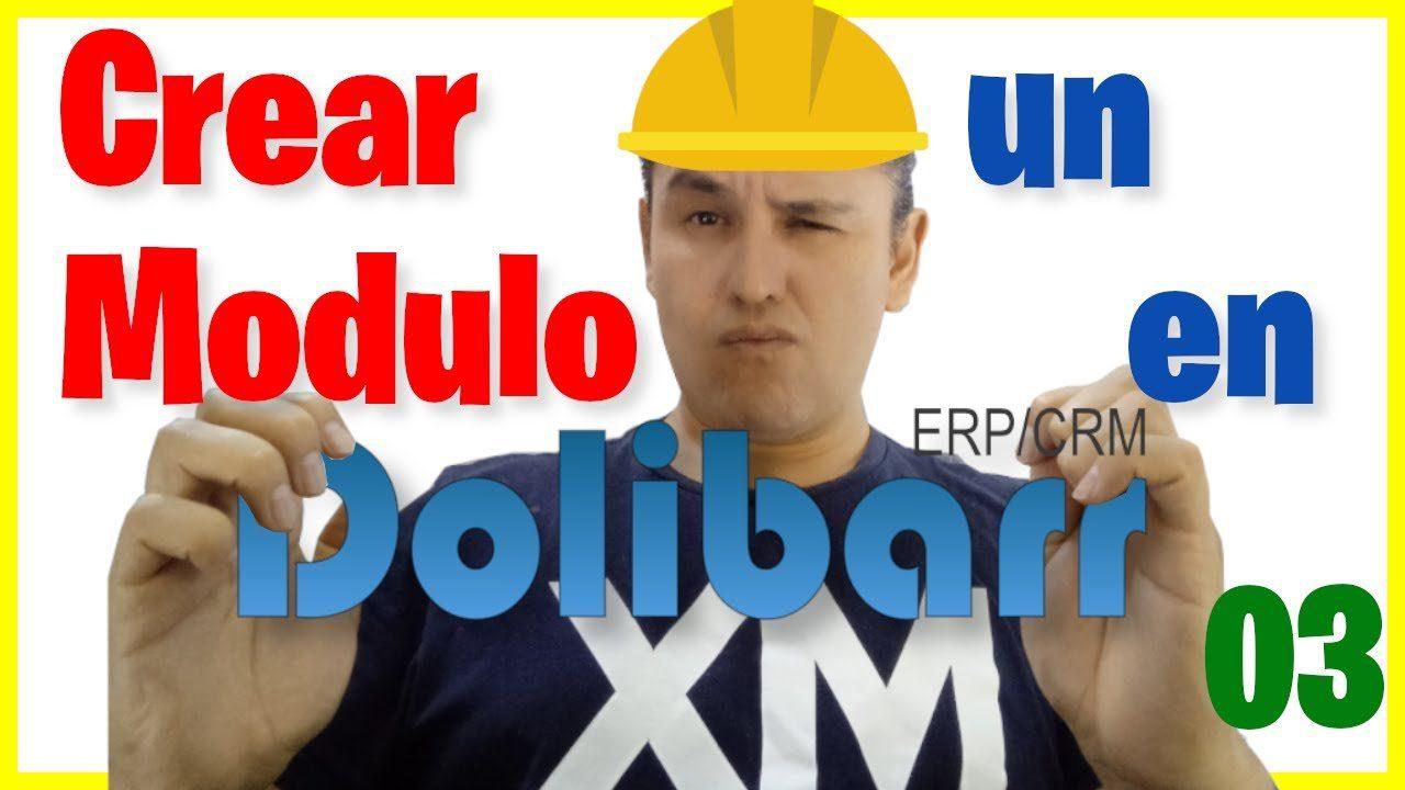 Crear un sub_módulo en Dolibarr [03]