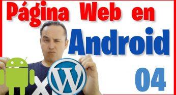 Crear una APK de nuestra Nuestra Página Web con Android Studio [04]🌐📲