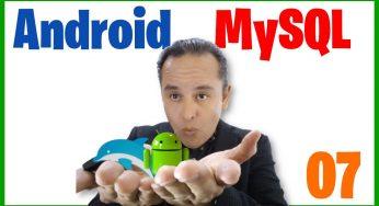 Borrar un registro vía api-rest (Curso de Android Studio y Mysql)[07]